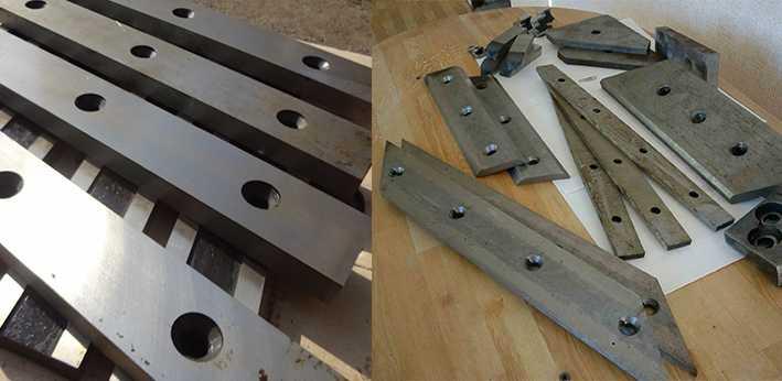 Промышленные ножи на заказ