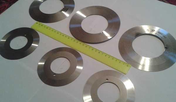Изготовление дисковых ножей