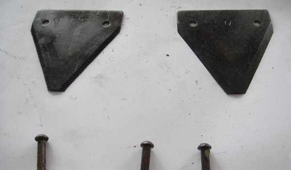 Нож сегментный